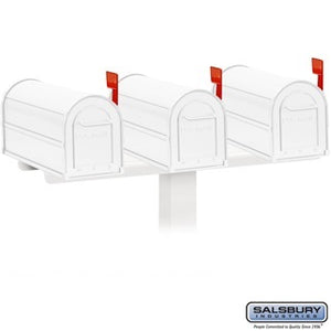 Salsbury Spreader Triple Mailbox Package