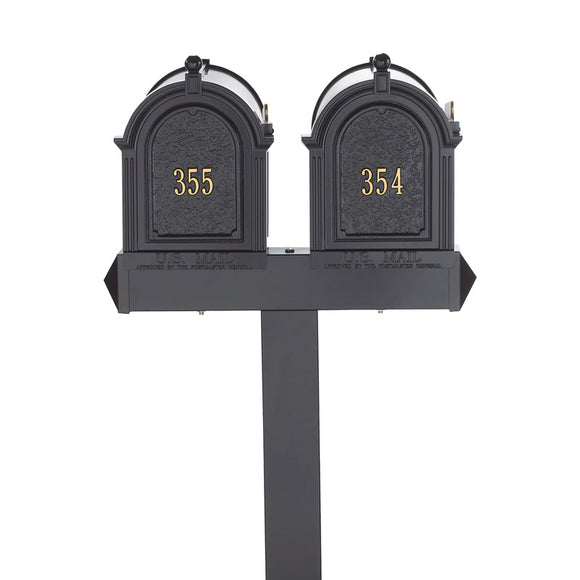 Whitehall Dual Capital Mailbox Package