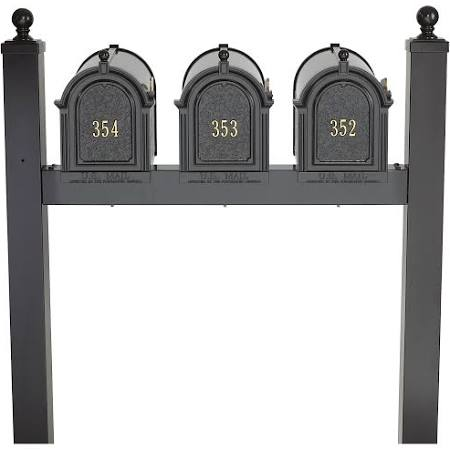 Whitehall Triple Capital Mailbox Package