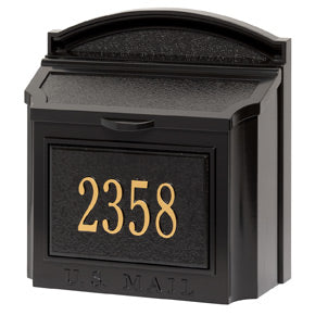 Whitehall Locking Wall Mount Mailbox