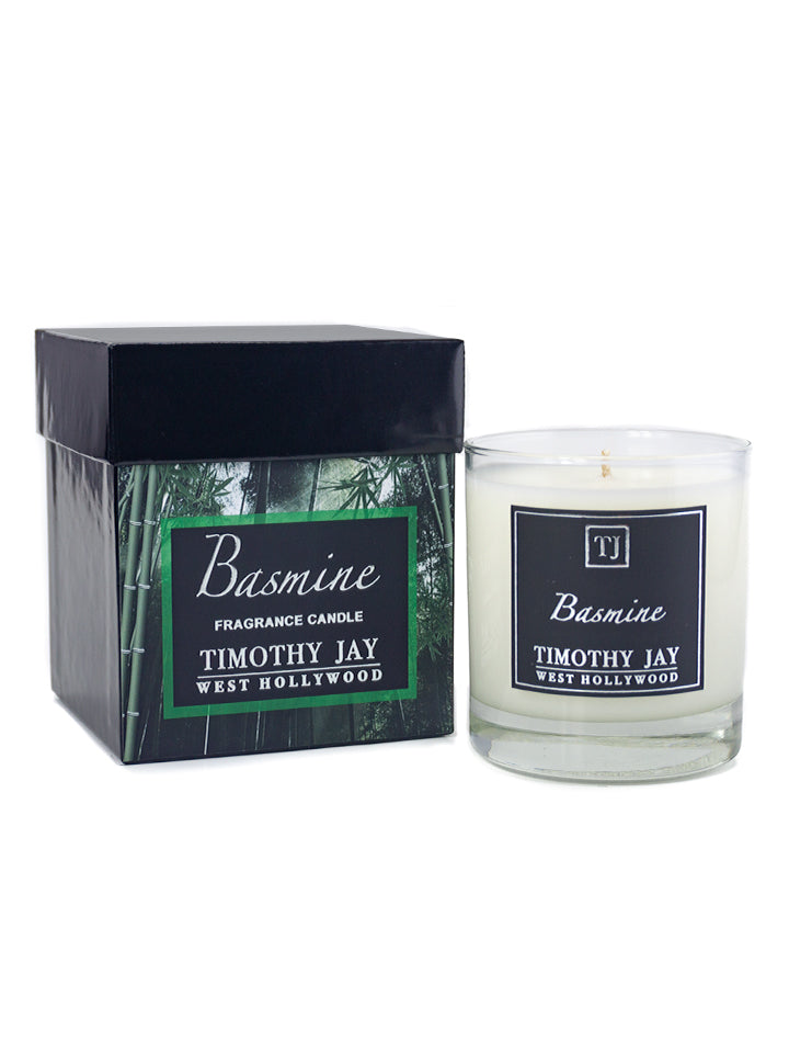 Bamboo Jasmine Scented Candle