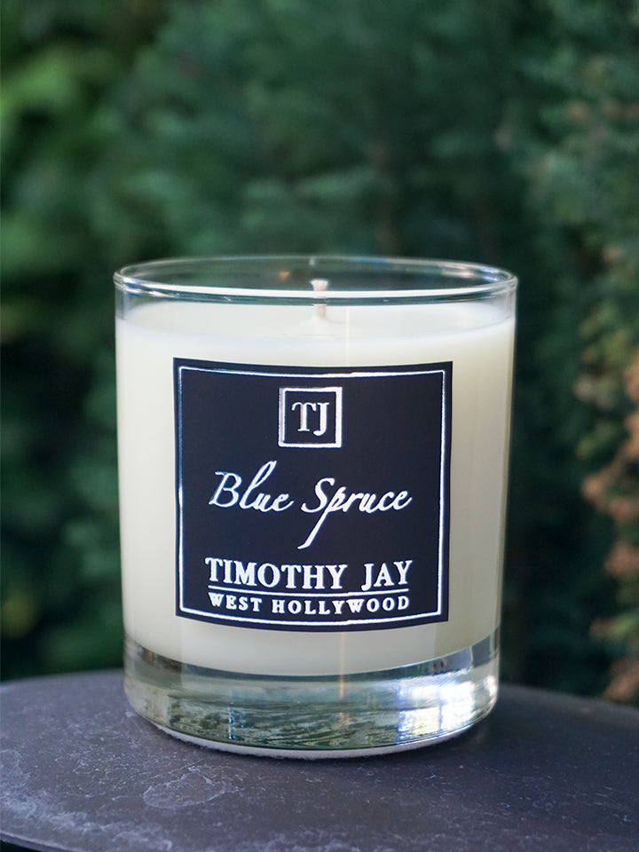 Blue Spruce Scented Candle