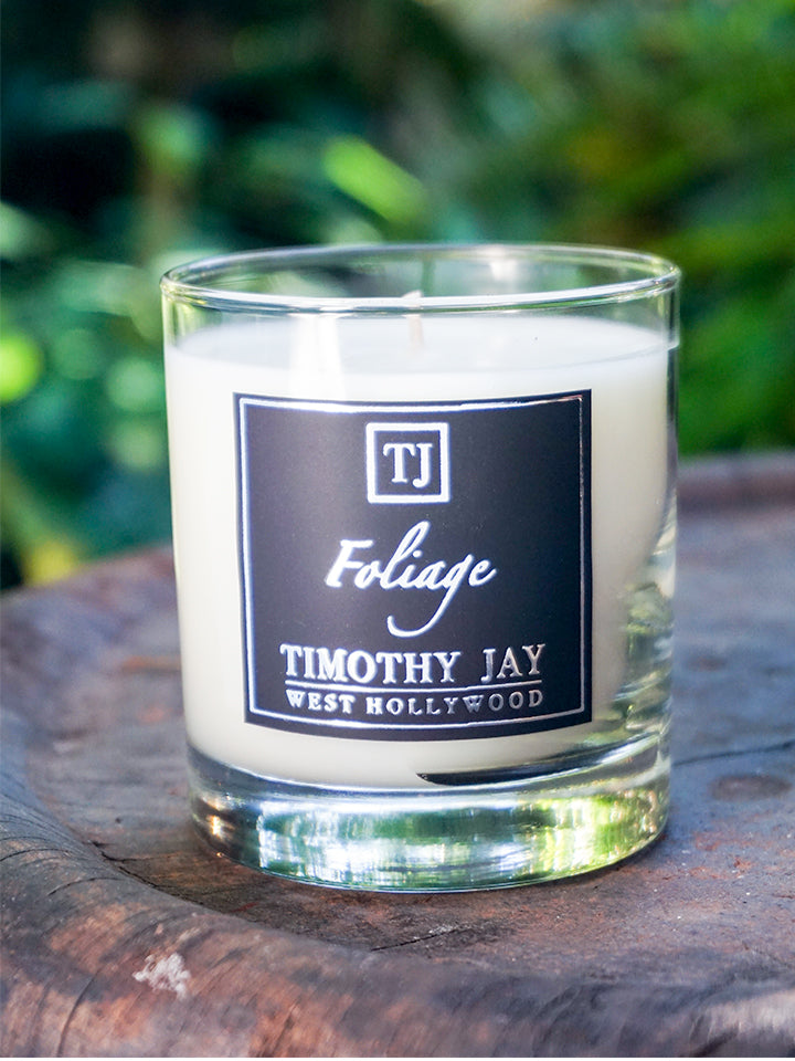 Foliage Green Scented Candle