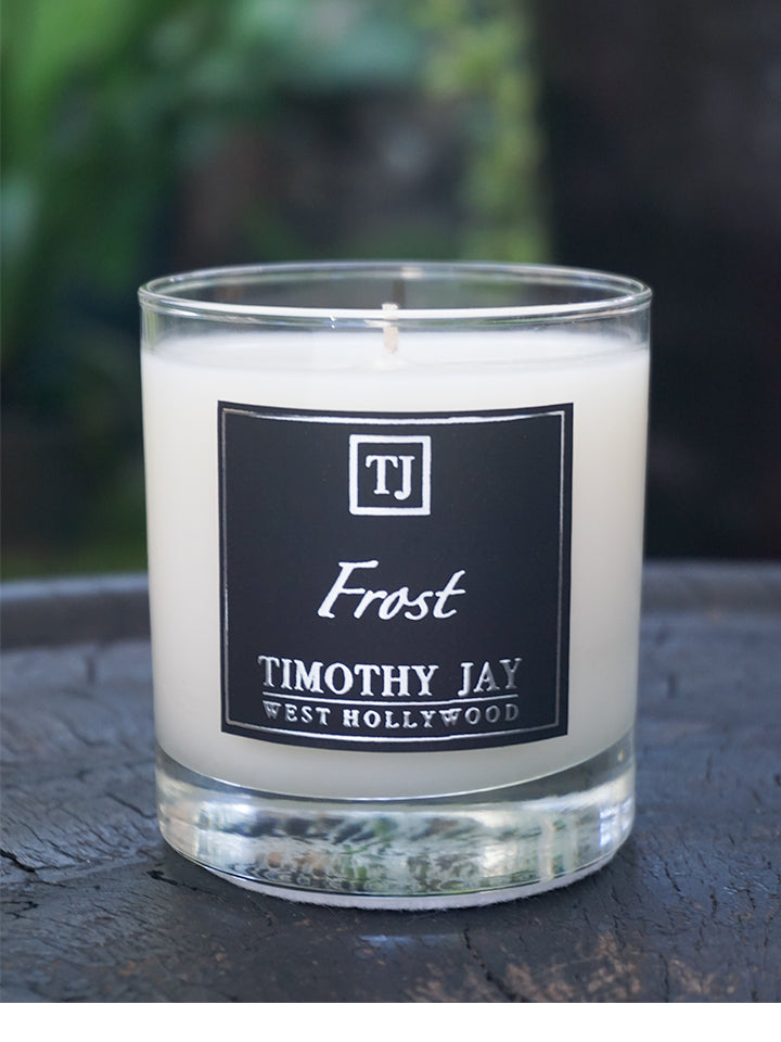 Frost Lillac Peoney Scented Candle