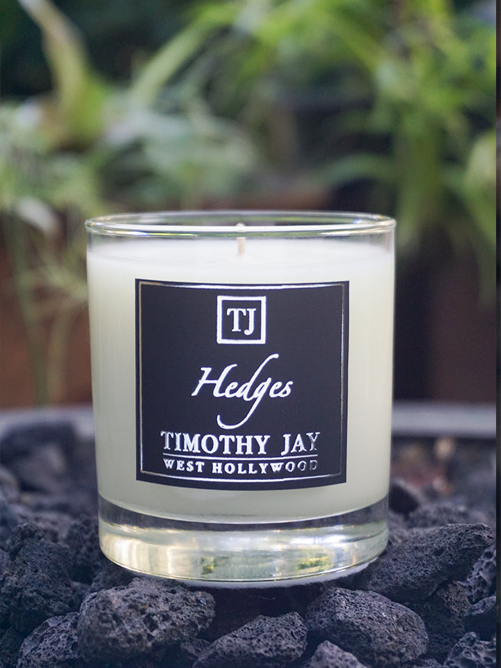 Hedges green Scented Candle