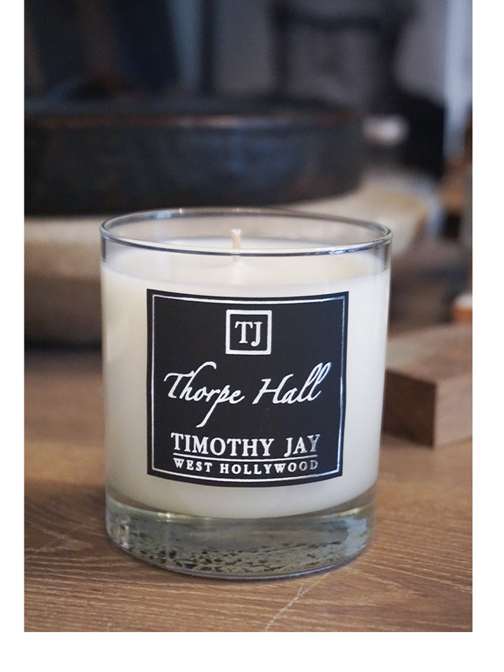 Thorpe Hall Tobacco Scented Candle