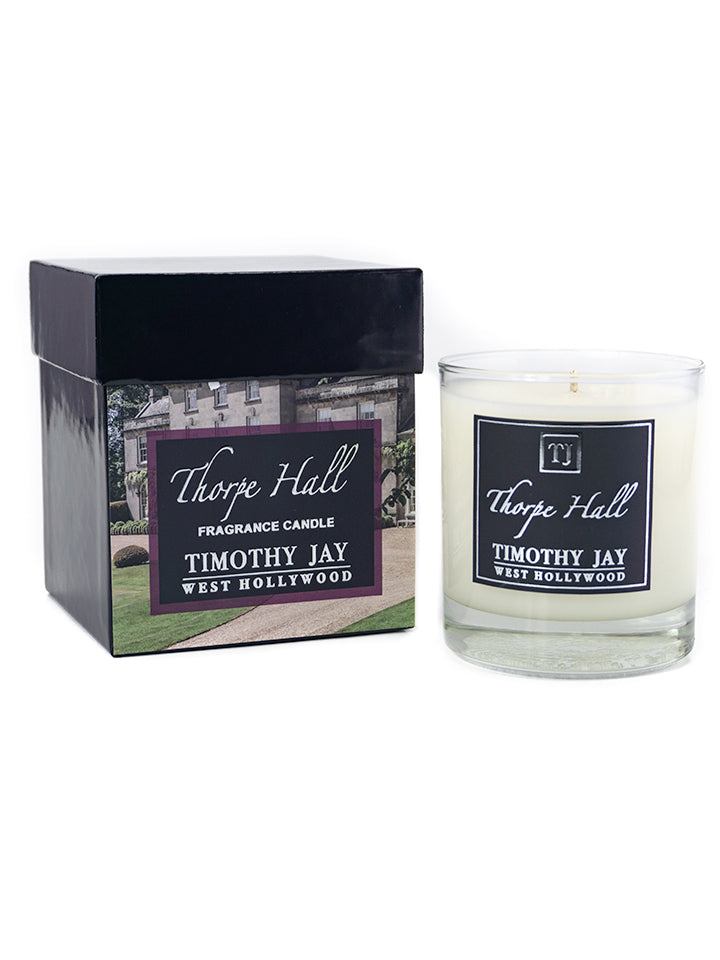 Thorpe Hall Tobacco woodsy Fragrance Candle