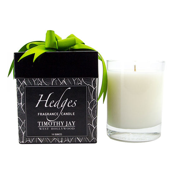 fresh cut hedges scented candle