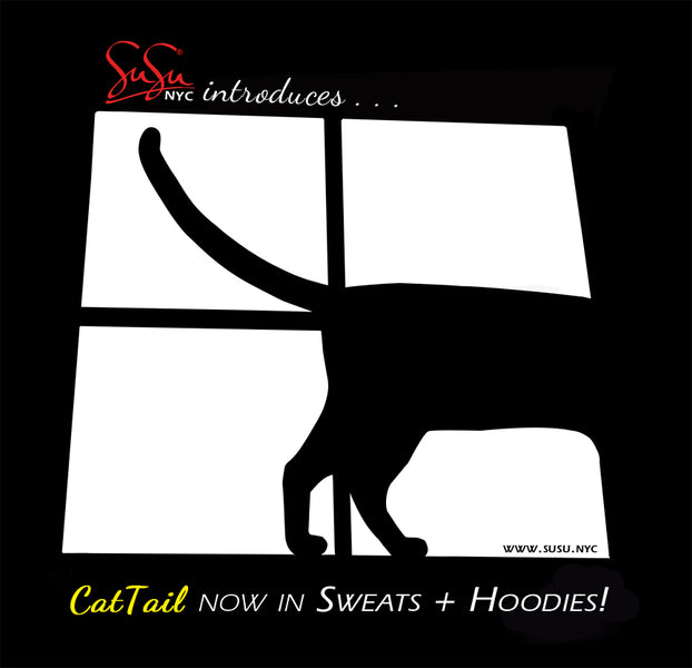 SuSu.NYC Catitude and Cat Tails