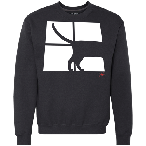 Cat Tail Heavyweight Crewneck Sweatshirt 9 oz.