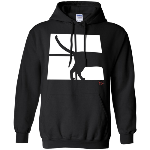 Cat Tail Pullover Hoodie 8 oz.