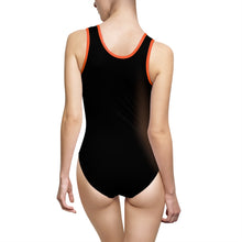 Cat with Dragonfly Classic One-Piece Swimsuit