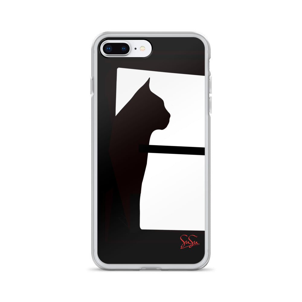Black Cat Ari iPhone Case