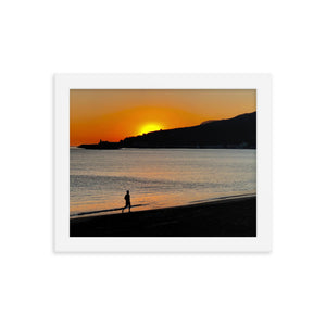 Sesimbre Sunset Framed print