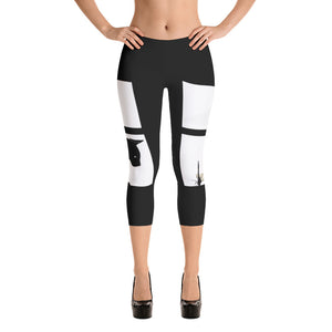 Dragonfly Capri Leggings