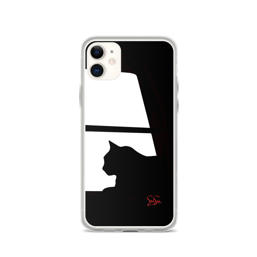 Gato iPhone Case