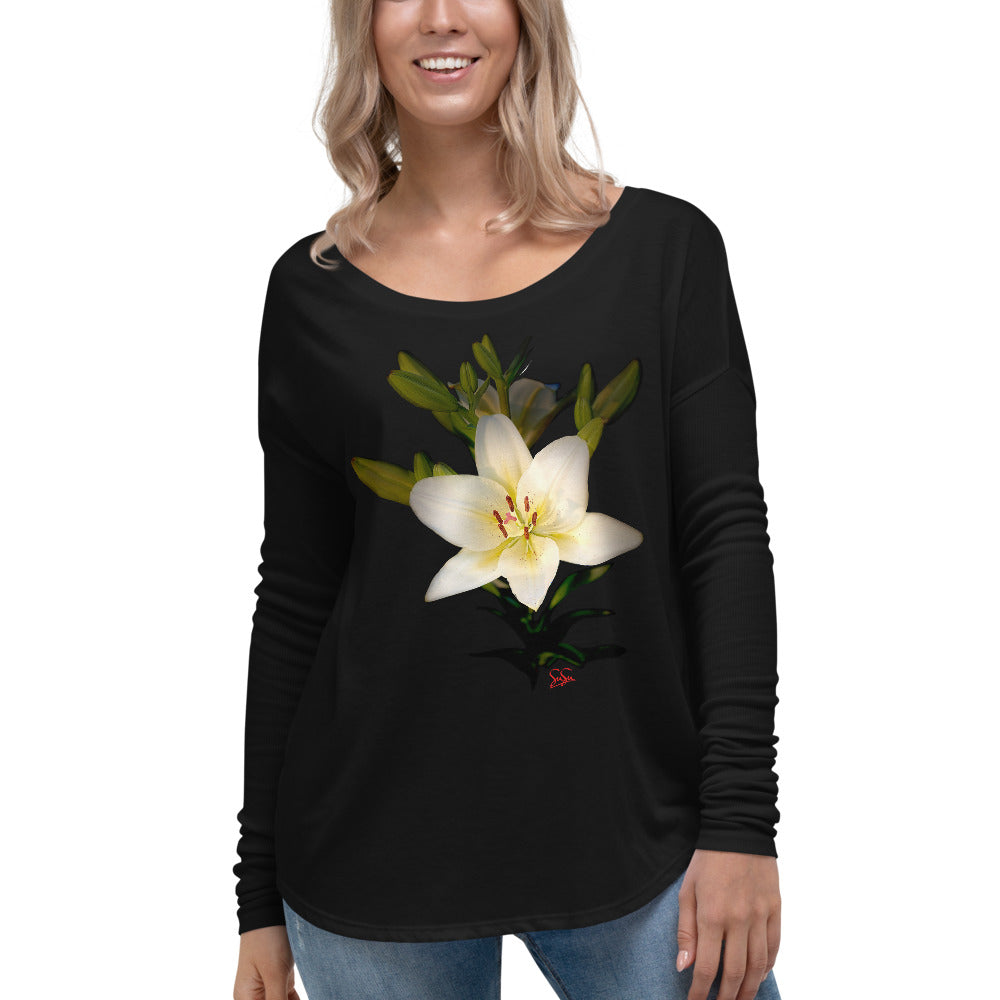 Lily Flowy Long Sleeve Shirt