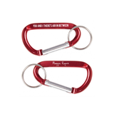 Eye Pin and Carabiner Combo Pack