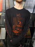 HELL - Lower Your Head / Where Fire is Not Quenched long-sleeve t-shirt