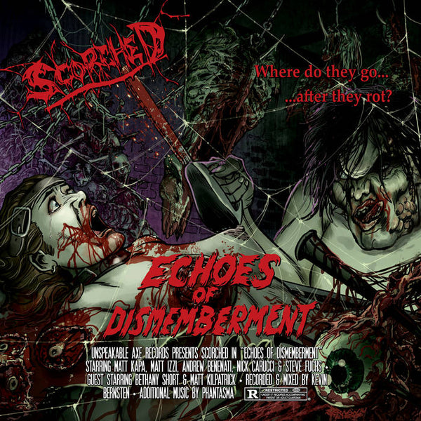 Scorched - Echoes of Dismemberment CD