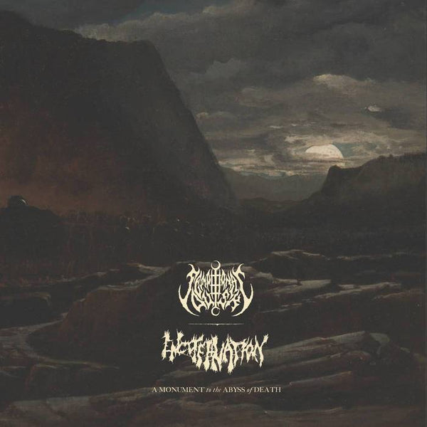 Sempiternal Dusk / Encoffination - A Monument to the Abyss of Death LP