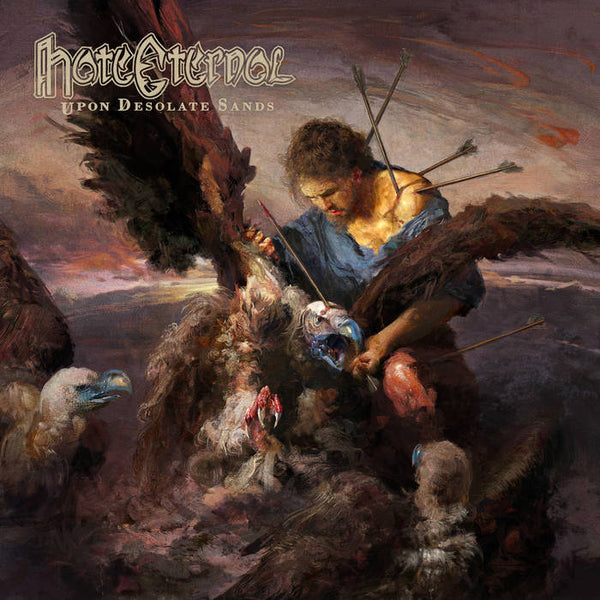 Hate Eternal - Upon Desolate Sands LP