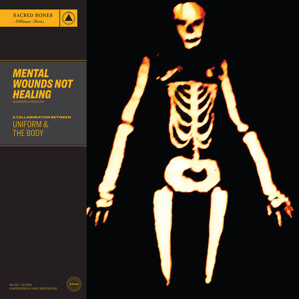 Uniform / The Body - Mental Wounds Not Healing LP (clear vinyl)
