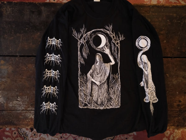 False - Triple Goddess long-sleeve t-shirt