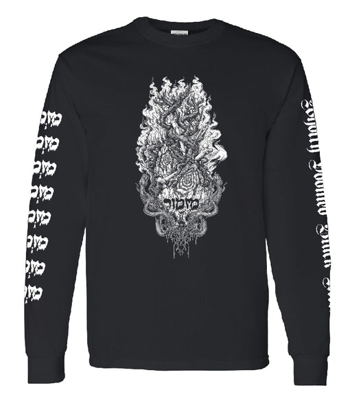 Mizmor - Wholly Doomed Black Metal long-sleeve t-shirt BLACK