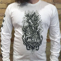 Mizmor - Wholly Doomed Black Metal t-shirt WHITE