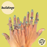 Buildings - You Are Not One Of Us LP
