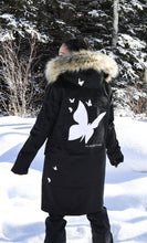 Load image into Gallery viewer, Butterfly Longline Parka