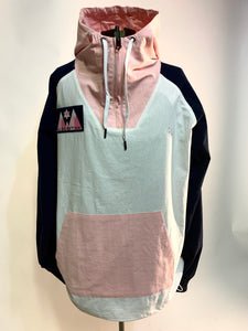 Color Block Anorak Hoodie - Algorythm Designs