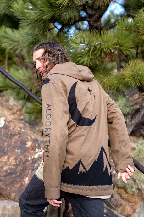 Mountain Snowboard Jacket - Algorythm Designs