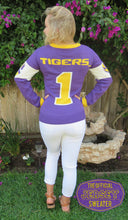 Officially Licensed LSU Tigers Jersey Sweater #1 GAMEDAY