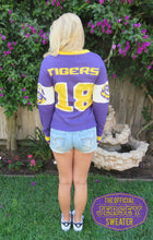 Officially Licensed LSU Tigers Jersey Sweater #18 EVERY DAY