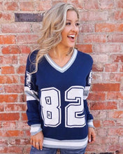 Dallas  #82 Unisex Knit  Jersey Sweater