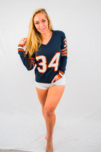 Chicago  #34 Women's Knit  Jersey Sweater