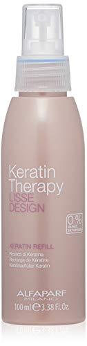 Alfaparf Milano Lisse Design Keratin Milk 100ml  -Order Alfaparf Lisse Design Keratin Therapy Keratin Refill Milk, A light & velvety fluid that recharges the hair with keratin & Collagen, helping to keep the hair smooth, strong, soft and tangle free.  - Stabeto