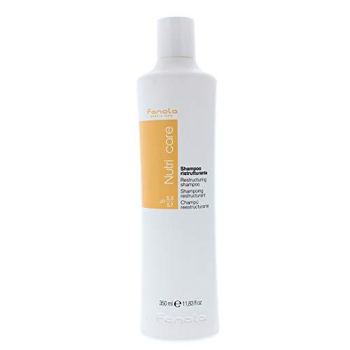 For weak, dry or stressed hair, nourishing shampoo is a perfect ideal Fanola nutri care restructuring shampoo restores softness and moisture to dry , weak or stressed hair. As shampoo is enriched with milk proteins, it protect dry, frizzy and damaged hair from future damage and protect hair as healthier