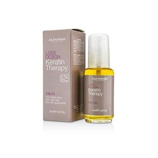 Alphaparf MILANO LISSE DESIGN KERATIN THERAPY THE OIL 50 ml - Stabeto