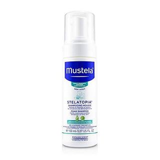 Mustela Stelatopia Foam Shampoo for Atopic-Prone Skin 150ml - Stabeto