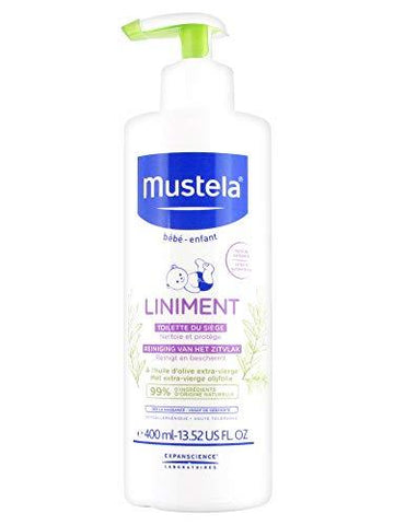 Mustela Liniment Pump-Bottle 400ml - Stabeto