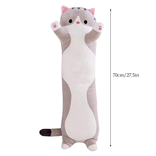 Plush Pillow, Cat Pillow, Soft And Comfortable, Suitable For Plush Toys For Boys And Girls Over 1 Year Old