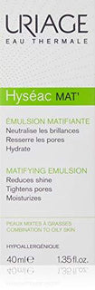 Uriage Hyseac Mat' Mattifying Emulsion 40ml Combination To Oily Skin - Stabeto