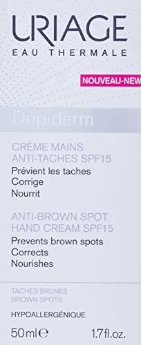 Uriage Depiderm Anti-Brown Spot Hand Cream, 50 ml - Stabeto