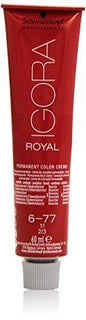 Schwarzkopf Igora Royal Permanent Hair Colour Number 6-77 - Stabeto