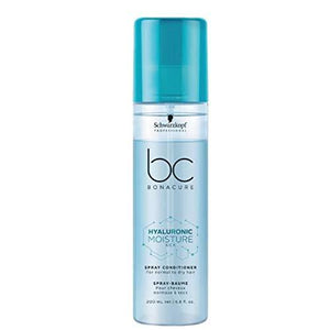 Schwarzkopf Professional Hyaluronic Moisturizer BC Bonacure Moisture Kick Spray Conditioner, 200ml - Stabeto