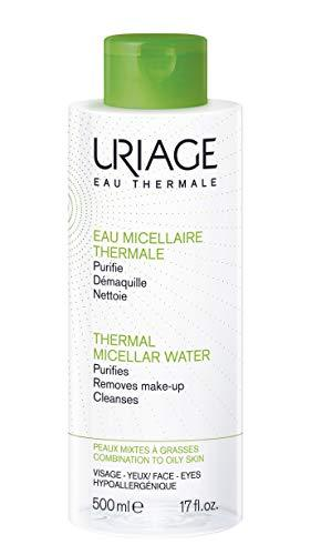Thermal Micellar Water by Uriage Eau Thermale For Combination & Oily Skin 500ml - Stabeto