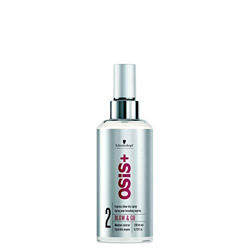 Schwarzkopf Osis Plus Blow and Go Smooth Blow Dry Spray 200 ml - Stabeto